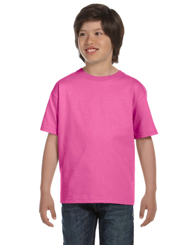 Azalea Youth DryBlend 5.6 oz., 50/50 T-Shirt as seen from the front
