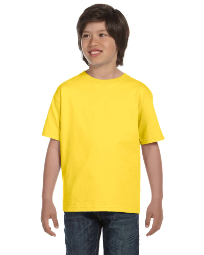 Daisy Youth DryBlend 5.6 oz., 50/50 T-Shirt as seen from the front