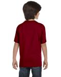 Garnet Youth DryBlend 5.6 oz., 50/50 T-Shirt as seen from the back