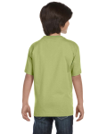 Kiwi Youth DryBlend 5.6 oz., 50/50 T-Shirt as seen from the back