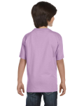 Orchid Youth DryBlend 5.6 oz., 50/50 T-Shirt as seen from the back