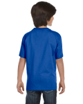Royal Youth DryBlend 5.6 oz., 50/50 T-Shirt as seen from the back
