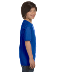 Royal Youth DryBlend 5.6 oz., 50/50 T-Shirt as seen from the sleeveleft