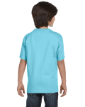 Sky Youth DryBlend 5.6 oz., 50/50 T-Shirt as seen from the back