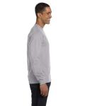 Sport Grey DryBlend 5.6 oz., 50/50 Long-Sleeve T-Shirt as seen from the sleeveleft