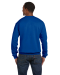 Royal Premium Cotton 9 oz. Ringspun Crew as seen from the back