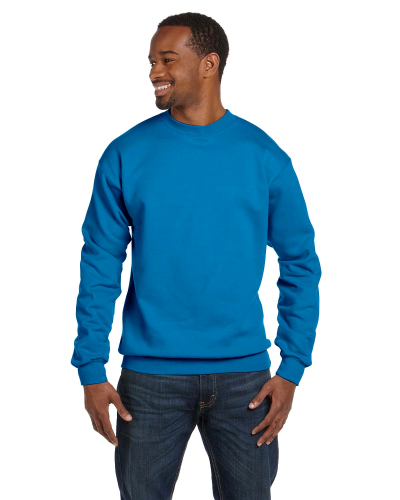 Sapphire Premium Cotton 9 oz. Ringspun Crew as seen from the front