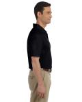 Black DryBlend™ 6.5 oz. Piqué Sport Shirt as seen from the sleeveleft