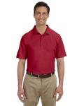 Cardinal Red DryBlend™ 6.5 oz. Piqué Sport Shirt as seen from the front