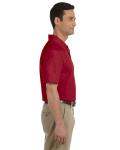 Cardinal Red DryBlend™ 6.5 oz. Piqué Sport Shirt as seen from the sleeveleft