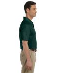 Forest Green DryBlend™ 6.5 oz. Piqué Sport Shirt as seen from the sleeveleft