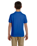 Royal DryBlend Youth 6.5 oz. Piqué Sport Shirt as seen from the back