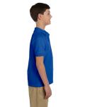 Royal DryBlend Youth 6.5 oz. Piqué Sport Shirt as seen from the sleeveleft