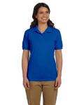 Royal DryBlend Ladies' 6.5 oz. Piqué Sport Shirt as seen from the front