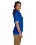 Royal DryBlend Ladies' 6.5 oz. Piqué Sport Shirt as seen from the sleeveleft