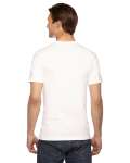 White MADE IN USA Unisex Short-Sleeve Hammer T-Shirt as seen from the back