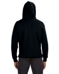 Black Sport Lace Hood as seen from the back