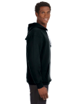 Black Sport Lace Hood as seen from the sleeveleft
