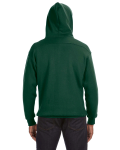 Forest Green Sport Lace Hood as seen from the back