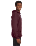 Maroon Sport Lace Hood as seen from the sleeveleft