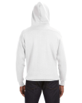 White Sport Lace Hood as seen from the back