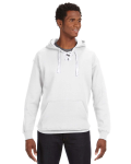 White Sport Lace Hood as seen from the front