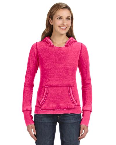 Wildberry Ladies' Zen Pullover Fleece Hood as seen from the front