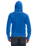Royal Vintage Zen Fleece Pullover Hood as seen from the back