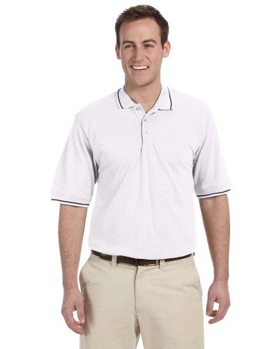 5.6 oz. Tipped Easy Blend™ Polo