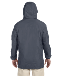 Graphite Men's Essential Rainwear as seen from the back