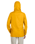 Sunray Yellow Ladies' Essential Rainwear as seen from the back