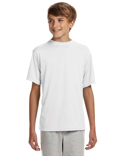 Youth Short-Sleeve Cooling Performance Crew Shirt