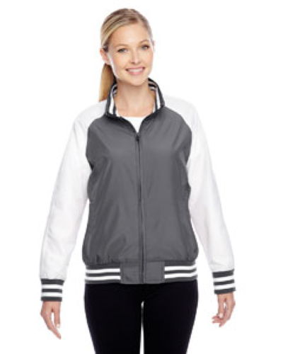 Sport Graphite Ladies' Championship Jacket as seen from the front