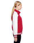 Sport Red Ladies' Championship Jacket as seen from the sleeveleft