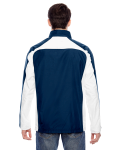 Sport Dark Navy Men's Squad Jacket as seen from the back