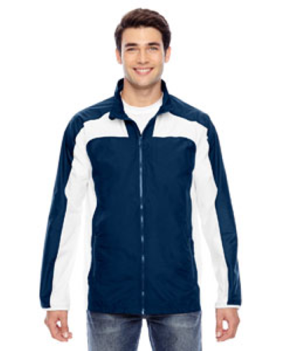 Sport Dark Navy Men's Squad Jacket as seen from the front