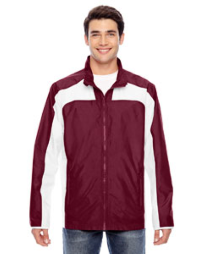Sport Maroon Men's Squad Jacket as seen from the front