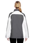 Sport Graphite Ladies' Squad Jacket as seen from the back