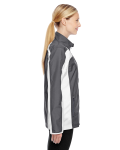 Sport Graphite Ladies' Squad Jacket as seen from the sleeveleft