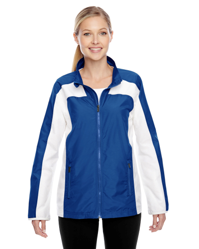 Sport Royal Ladies' Squad Jacket as seen from the front