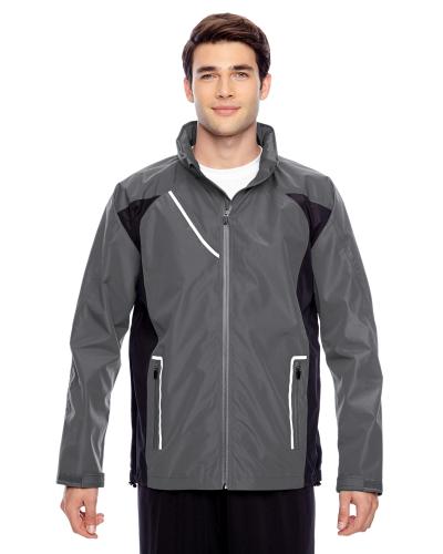 Sport Graphite Men's Dominator Waterproof Jacket as seen from the front