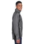 Sport Graphite Men's Dominator Waterproof Jacket as seen from the sleeveleft