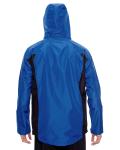Sport Royal Men's Dominator Waterproof Jacket as seen from the back
