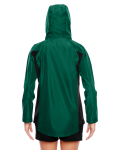 Sport Forest Ladies' Dominator Waterproof Jacket as seen from the back