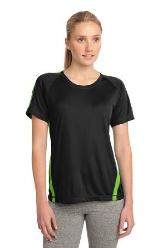 Sport-Tek Ladies Colorblock Competitor Tee