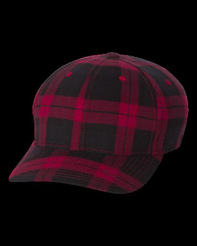 Tartan Plaid Cap- Embroidered