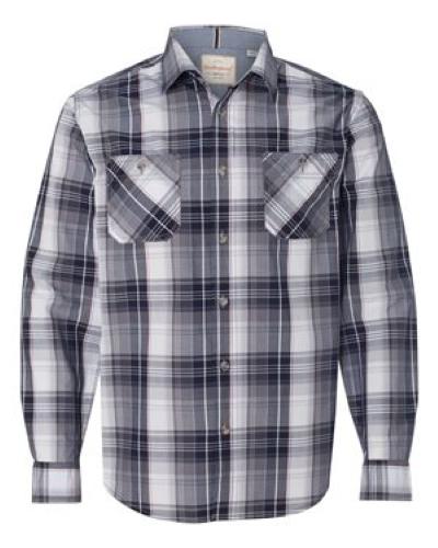 Vintage Plaid Long Sleeve Shirt