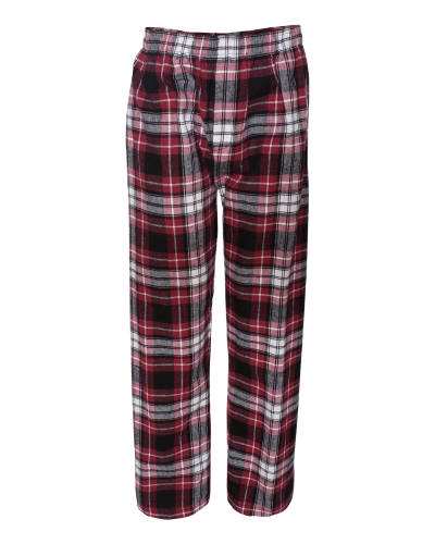 Classic Flannel Pant with Pockets - Embroidered