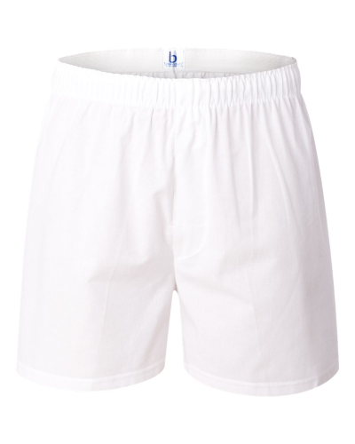 White Cotton Boxer
