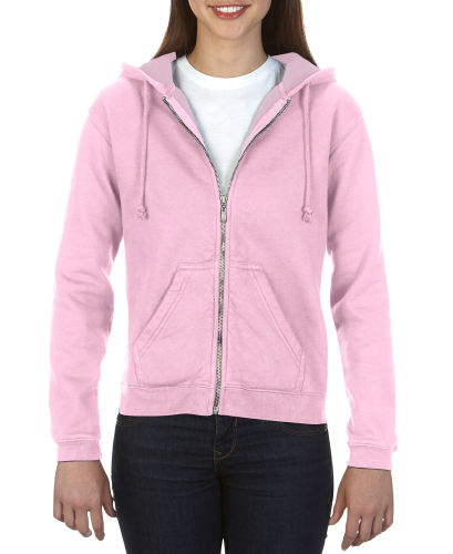Comfort Colors Ladies' Full Zip Hooded Fleece